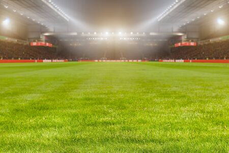 Lights at night.Football stadium background