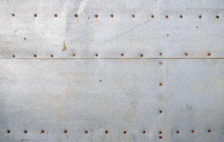 Textura de viejas hojas de hierro galvanizado