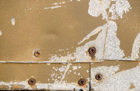 Texture of old galvanized iron sheets Stockfoto