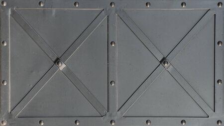 The rivet rustic metal texture