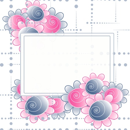 Flowers bright a background are more transparent Stock Vector - 11016248