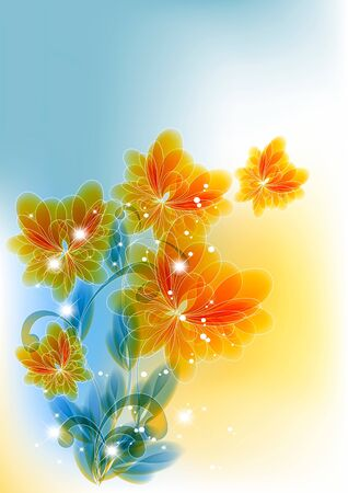 Background with transparent easy colors.     Vector