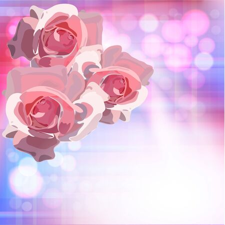 Flowers bright a background are more transparent     Stock Vector - 12868647