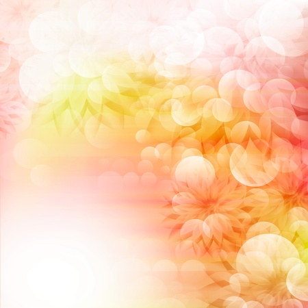 Flowers bright a background are more transparent Stock Vector - 12868634