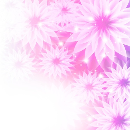 Flowers bright a background are more transparent Stock Vector - 14210209