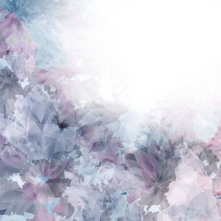Flowers bright a background are more transparent     Stock Vector - 14210222