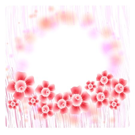 Flowers bright a background are more transparent Stock Vector - 15642563