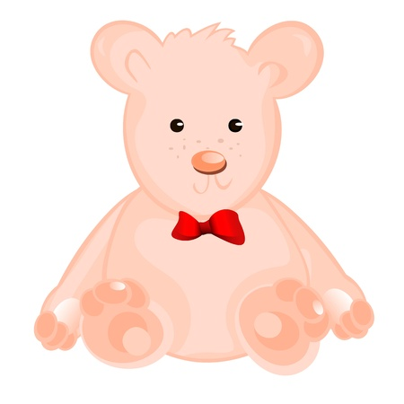 Teddy Bear. Vector