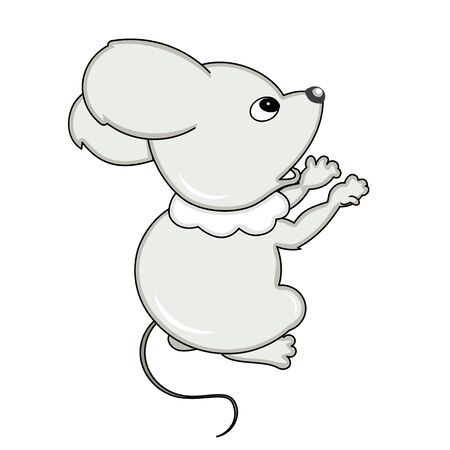 animated film: Small little mouse Illustration