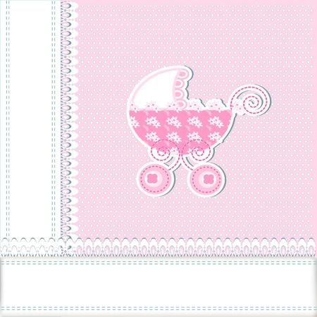 baby arrival Stock Vector - 16398803