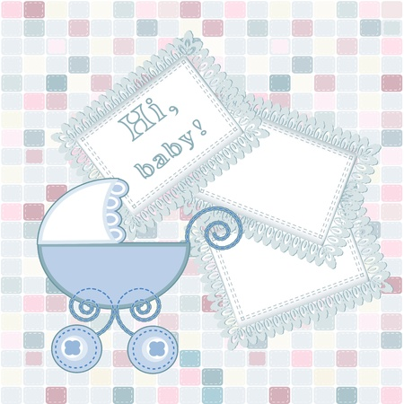 baby arrival Stock Vector - 16398775