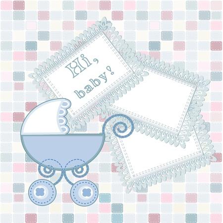 baby arrival Stock Vector - 16398775