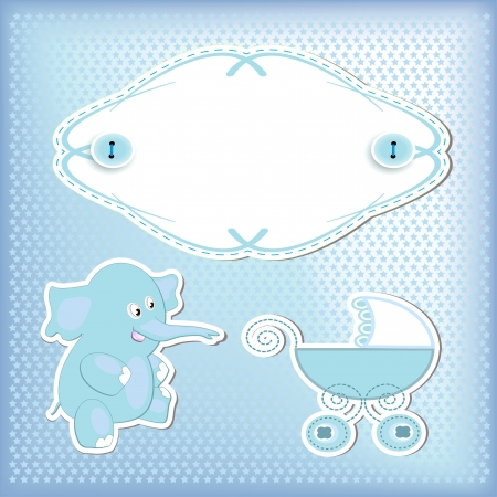 baby arrival Stock Vector - 16398774