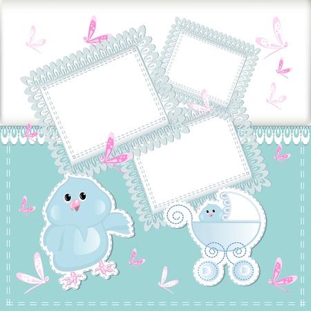 baby arrival Stock Vector - 16526174