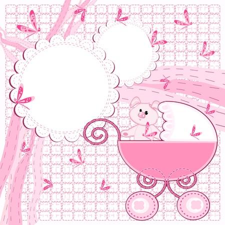 baby arrival Stock Vector - 17169956