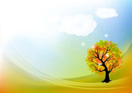 Autumn landscape Stock Vector - 17203417