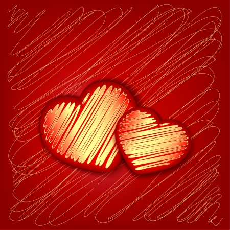 Heart decorative Stock Vector - 17451687