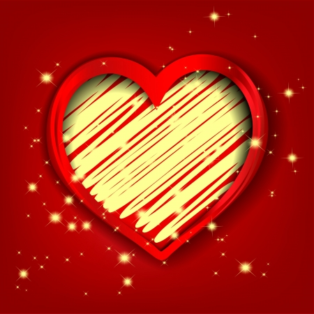Heart decorative Stock Vector - 17451691