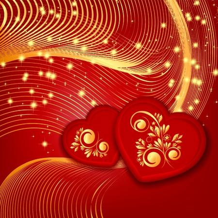 Heart decorative Stock Vector - 17451680