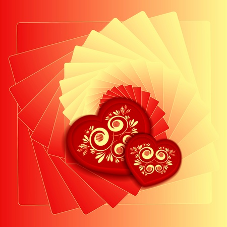 Heart decorative Stock Vector - 17451675