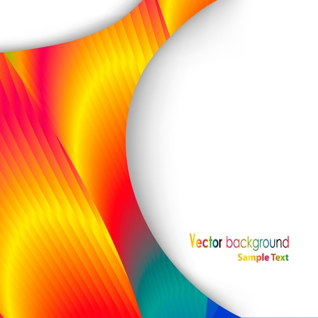 co lour: abstract background Illustration