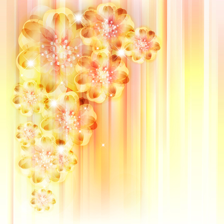 flower backgrounds Illustration