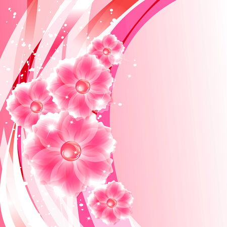 abstract creative spring or summer  Vector