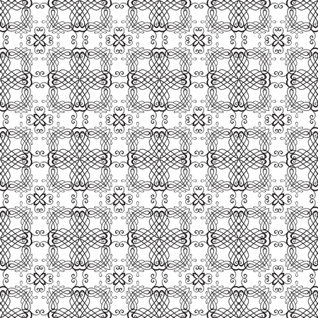 softly: Vector seamless pattern. Modern floral texture. Endless abstract background. Stylized print with
