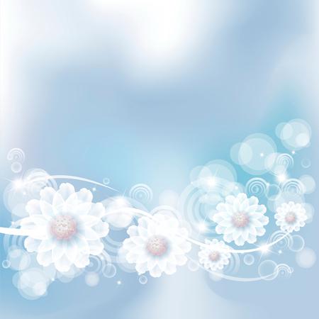softly: gentle fantasy flowers