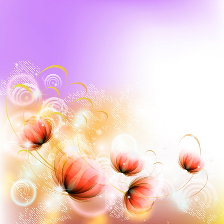 gentle fantasy flowers
