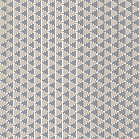 Abstract background of triangular shapes. Seamless pattern for use in design. Ilustração