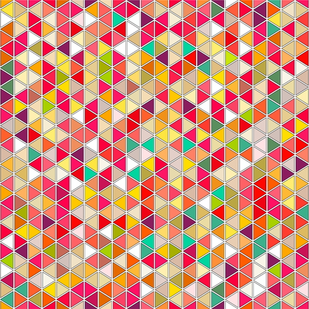 Abstract background of triangular shapes. Seamless pattern for use in design. Illustration