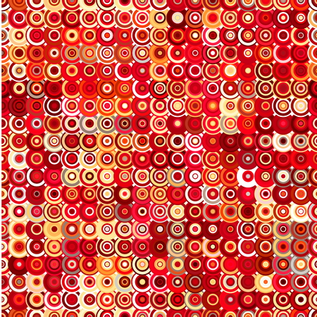 Abstract background made of round shapes. Seamless pattern for use in design .....
