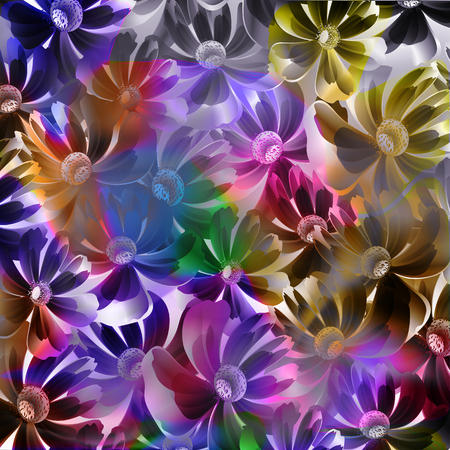 Abstract, floral background for design use
