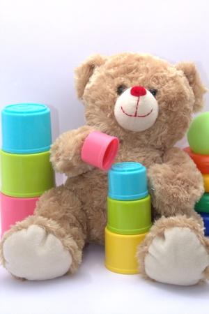 jouet: Ours en peluche joue