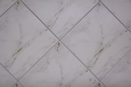 White marble tile photo