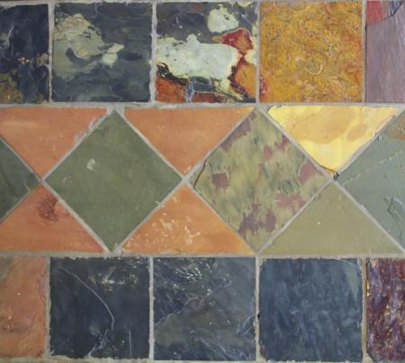 Square bright marble tile Stock Photo - 13538440
