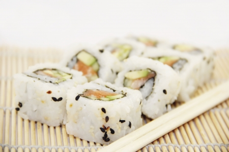 Sushi - Tasty California rolls