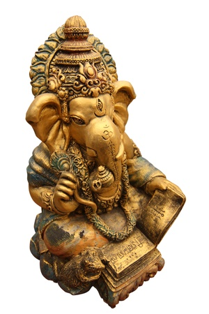 The Hindu god Ganesh. It is believed that there would be a fortune photo
