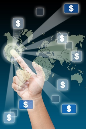 Dollar is power in the world photo