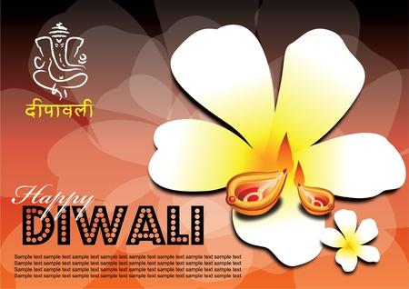 hinduismo: Fuente libre uso en obras de arte... Popularmente conocido como el festival de las luces de Diwali es un festival importante en el hinduismo, jainismo y el sijismo, que ocurren entre mediados de octubre y mediados de noviembre.