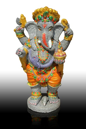lord: The Hindu god Ganesh. It is believed that there would be a fortune. Stock Photo