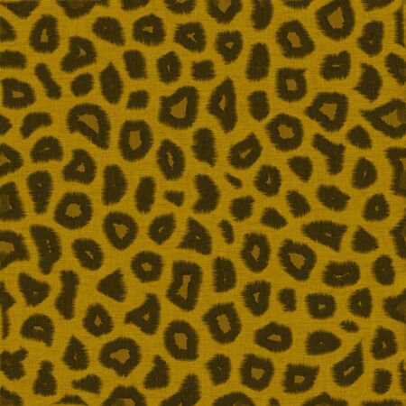Leopard fur illustration abstract background illustration