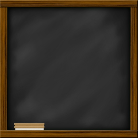 chalkboard blackboard with frame and brush chalkboard texture
