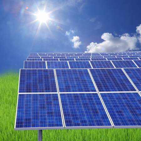 A photovoltaic power station,is a photovoltaic system designed for the supply of merchant power into the electricity grid. They are sometimes also referred to as solar farms or solar ranches photo