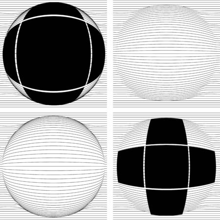 negative spaces: An optical illusion is characterized by visually perceived images that are deceptive or misleading