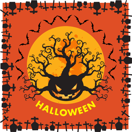 pranks: Halloween is a holiday on Oct 31, includes activities trick-or-treating, costume parties, carving jack-o-lanterns, bonfires, apple bobbing, haunted attractions, playing pranks, telling scary stories. Illustration