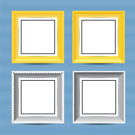 A picture frame is a decorative edging for a picture, such as a painting or photograph, intended to enhance it, make it easier to display, or protect it. Ilustrace