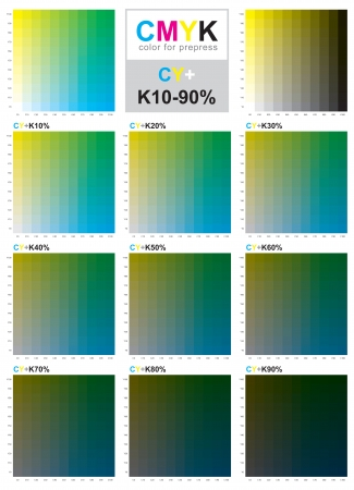 4 color printing: The CMYK color model is a subtractive color model, used in color printing, and is also used to describe the printing process itself. CMYK refers to the 4 inks used: cyan, magenta, yellow and black