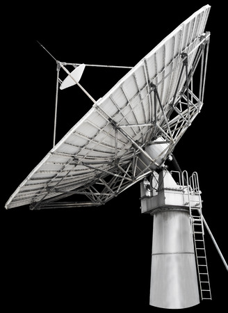 A satellite dish is a dish-shaped type of parabolic antenna  photo